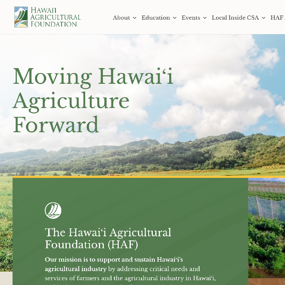 Hawai'i Agricultural Foundation